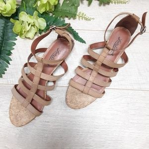 Lucky Brand Brown leather sandals size 7.5